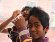 Prakash sætter håret